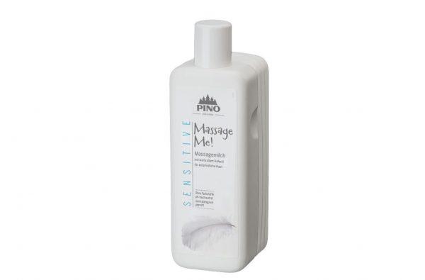 PINO Massage Me Sensitive auzu eļļas masāžas pieniņš, jutīgai ādai