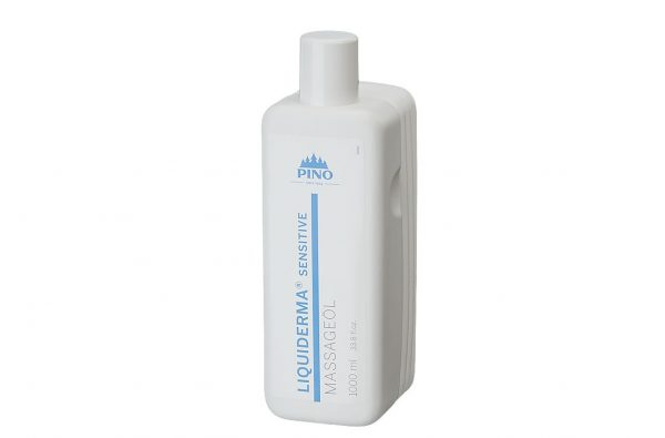 PINO LIQUIDERMA Sensitive masāžas eļļa, 1000 ml.