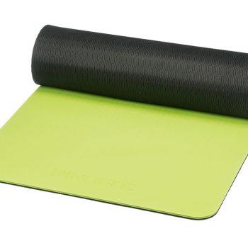 PINOFIT vingrošanas paklājs 180 x 60 x 10 mm, laima zaļš/melns