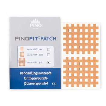 PINOFIT akupunktūras teips 4,4 cm x 5,2 cm