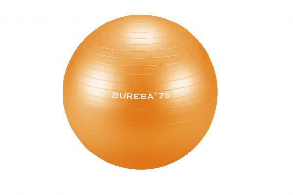 BUREBA vingrošanas bumba 75 cm, oranža