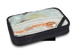 ELITE Bags medicīnas rokas soma, pelēka ar melnu
