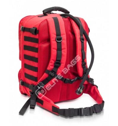 ELITE glābēju medicīnas muguras soma, sarkana