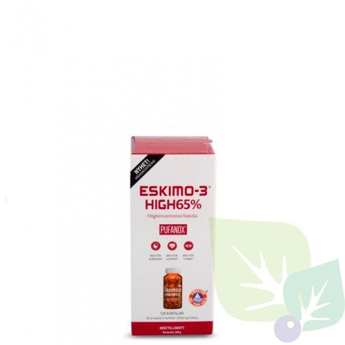ESKIMO-3 HIGH-65% PUFANOX kapsulas N120