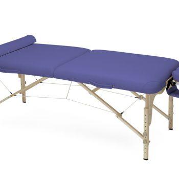 PINO saliekamais masāžas galds , tumši zils