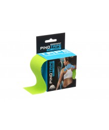 PINO TAPE Pro Terapy kinezioloģiskie teips 5cm x 5m, laima zaļš