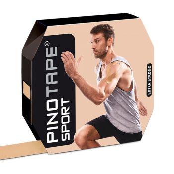 PINO TAPE Pro Sport kinezioloģiskais teips 5 cm x 31 m, bēšs