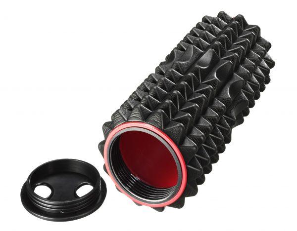 Trendy Prego masāžas rullis XL 60 cm, melns