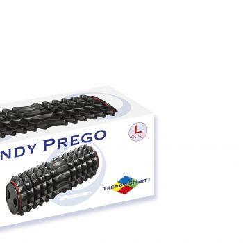 Trendy Prego masāžas rullis L 30 cm, melns