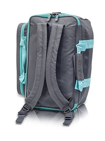 ELITE sporta medicīnas soma, pelēka/tirkīza zaļa